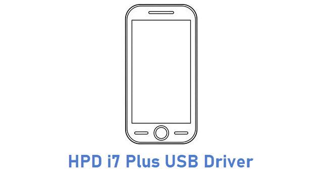 HPD i7 Plus USB Driver