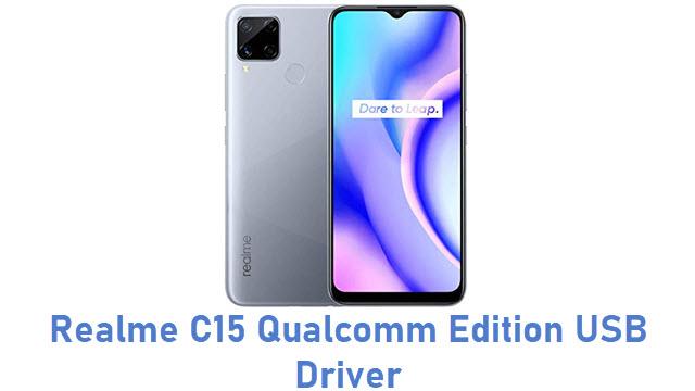Realme C15 Qualcomm Edition USB Driver