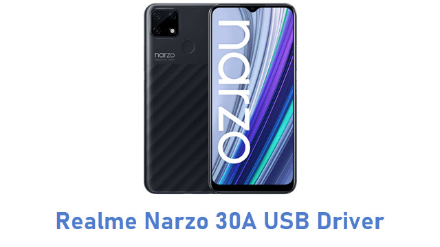 Realme Narzo 30A USB Driver