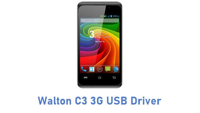 Walton C3 3G USB Driver