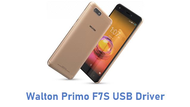 Walton Primo F7S USB Driver