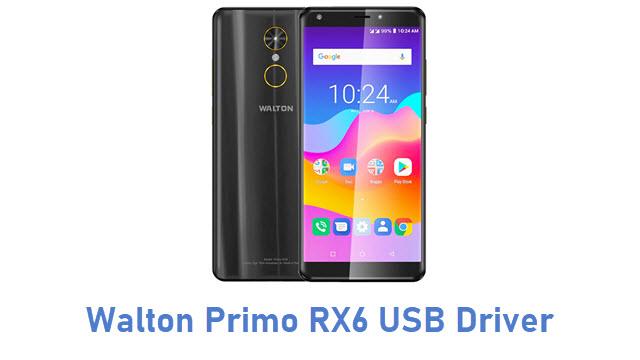 Walton Primo RX6 USB Driver