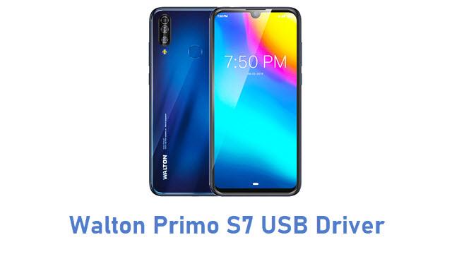 Walton Primo S7 USB Driver