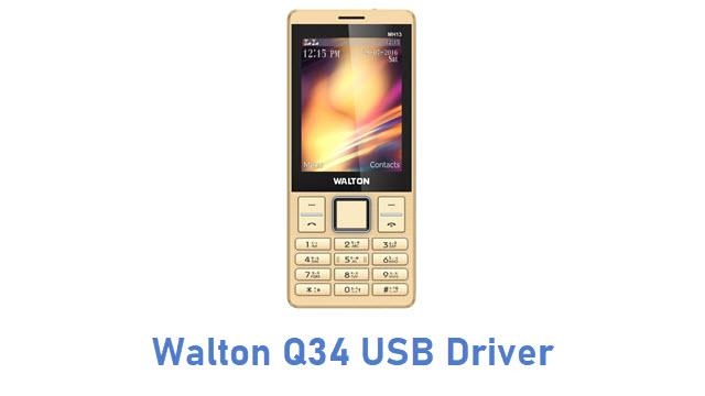 Walton Q34 USB Driver