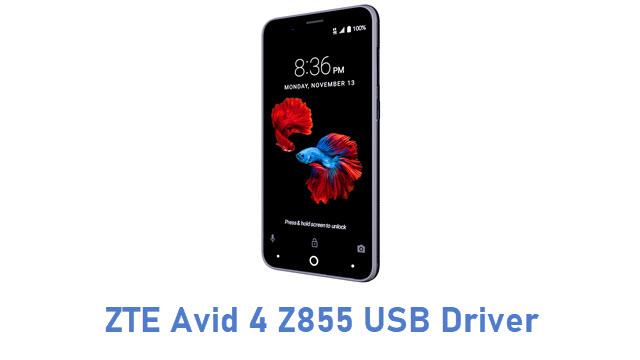 ZTE Avid 4 Z855 USB Driver
