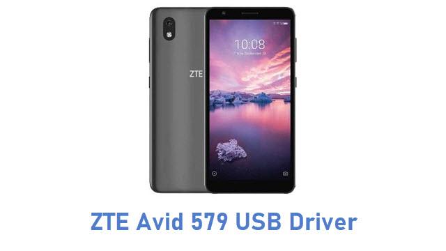 ZTE Avid 579 USB Driver