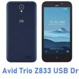 ZTE Avid Trio Z833 USB Driver