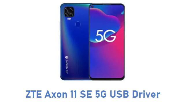 ZTE Axon 11 SE 5G USB Driver