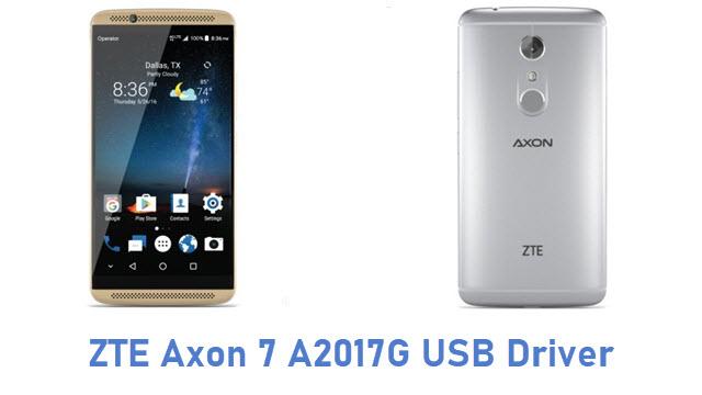 ZTE Axon 7 A2017G USB Driver