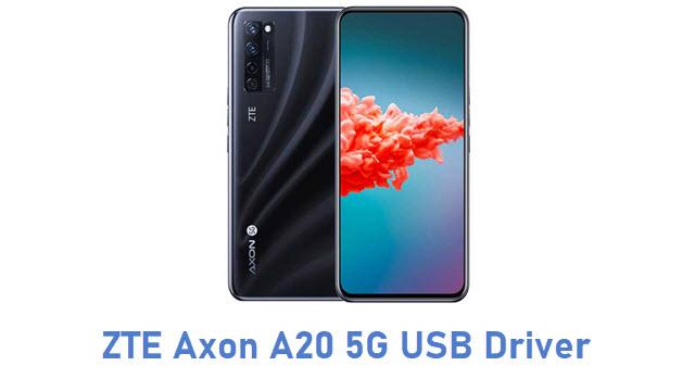ZTE Axon A20 5G USB Driver