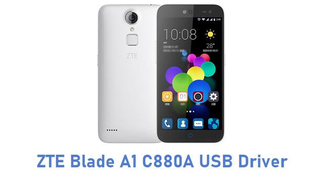 ZTE Blade A1 C880A USB Driver