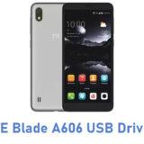 ZTE Blade A606 USB Driver