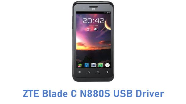 ZTE Blade C N880S USB Driver