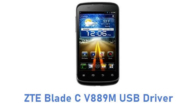 ZTE Blade C V889M USB Driver