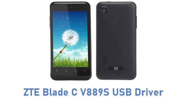 ZTE Blade C V889S USB Driver