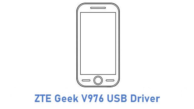 ZTE Geek V976 USB Driver