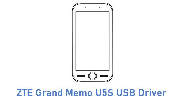 ZTE Grand Memo U5S USB Driver