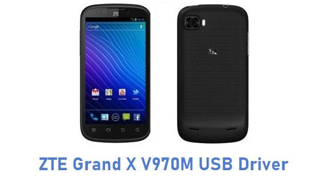 ZTE Grand X V970M USB Driver