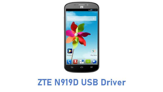 ZTE N919D USB Driver