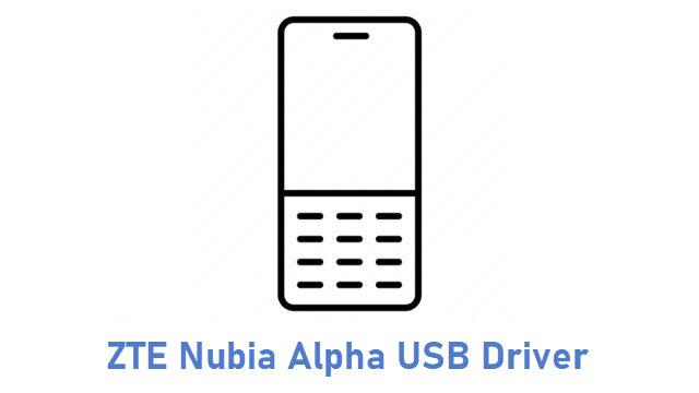 ZTE Nubia Alpha USB Driver
