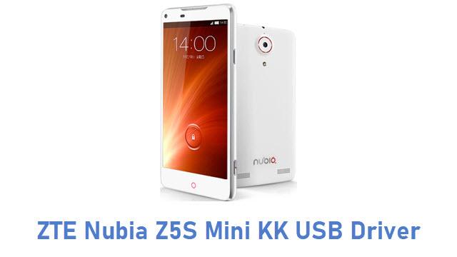 ZTE Nubia Z5S Mini KK USB Driver