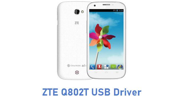 ZTE Q802T USB Driver