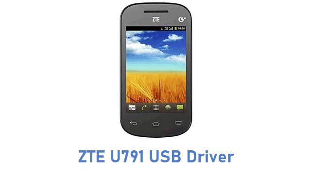 ZTE U791 USB Driver