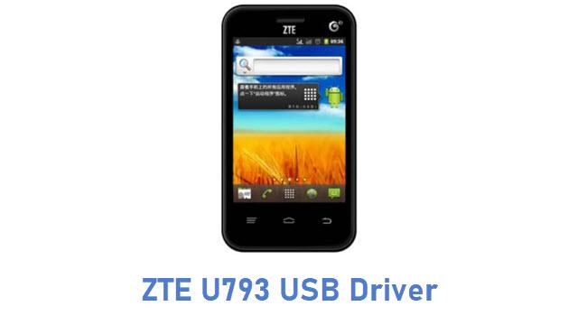 ZTE U793 USB Driver