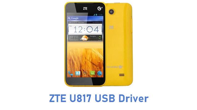 ZTE U817 USB Driver