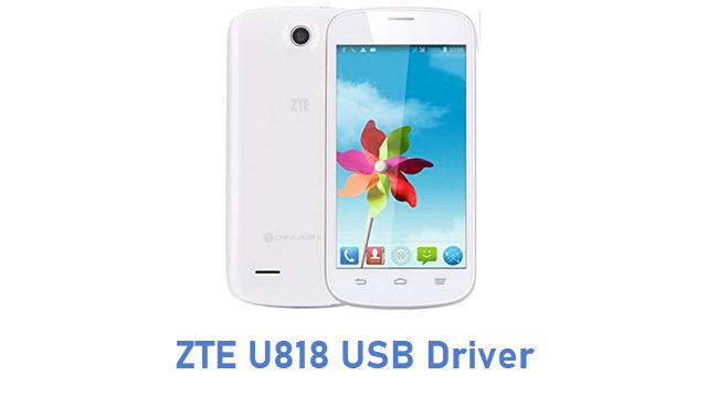 ZTE U818 USB Driver