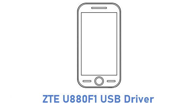 ZTE U880F1 USB Driver