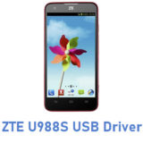 ZTE U988S USB Driver