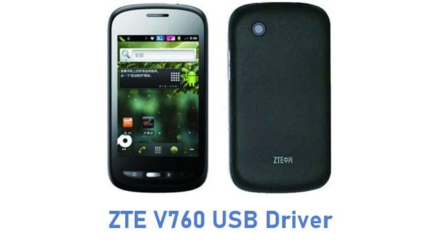 ZTE V760 USB Driver