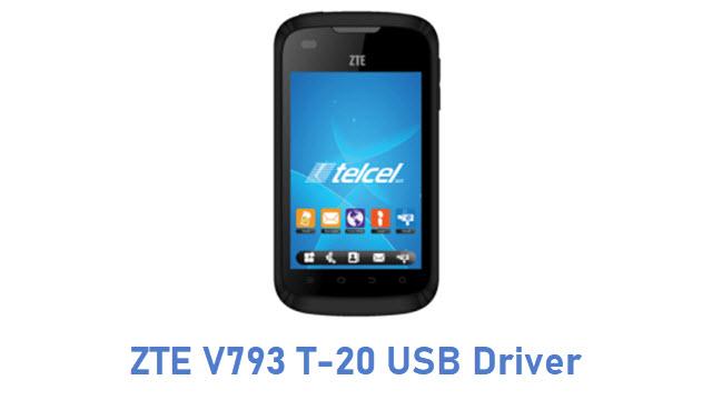 ZTE V793 T-20 USB Driver