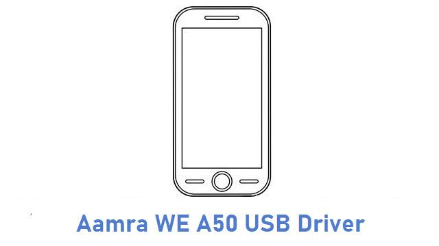 Aamra WE A50 USB Driver