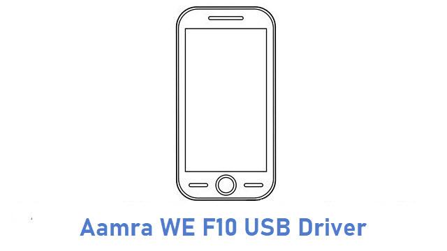 Aamra WE F10 USB Driver