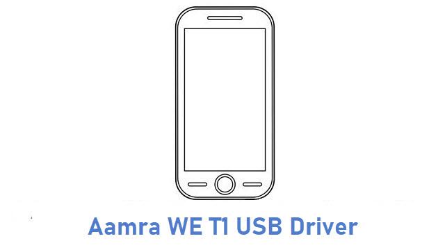 Aamra WE T1 USB Driver