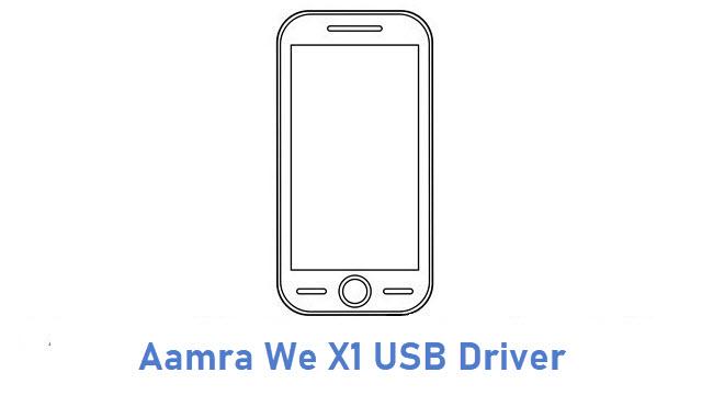 Aamra We X1 USB Driver