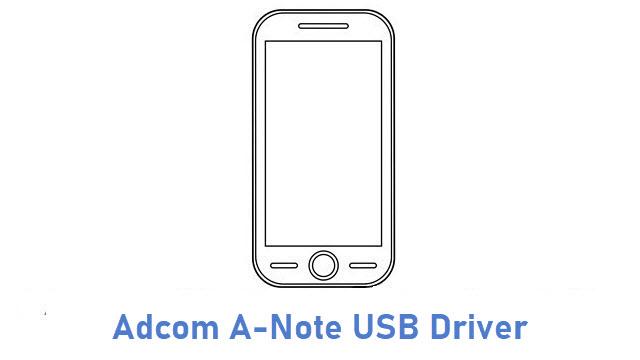 Adcom A-Note USB Driver