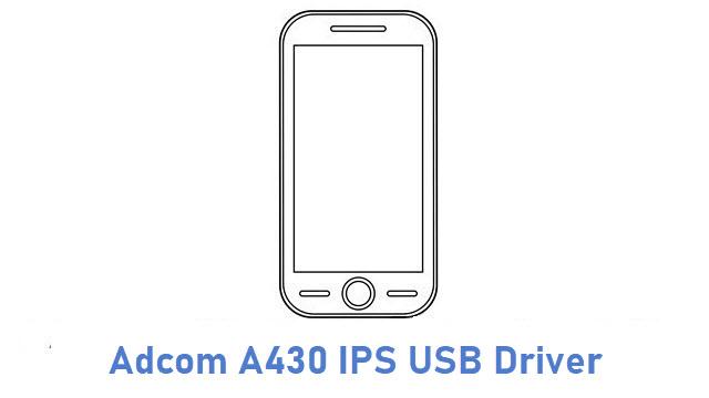Adcom A430 IPS USB Driver