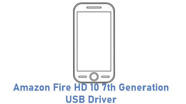 Amazon Fire HD 10 7th Generation USB Driver