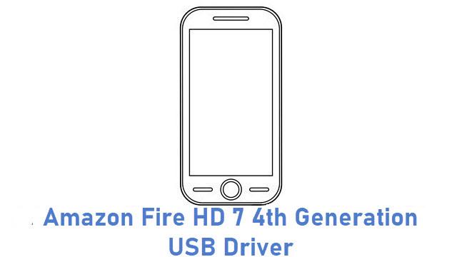 Amazon Fire HD 7 4th Generation USB Driver