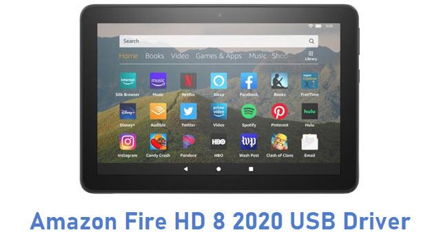 Amazon Fire HD 8 2020 USB Driver