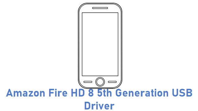 Amazon Fire HD 8 5th Generation USB Driver