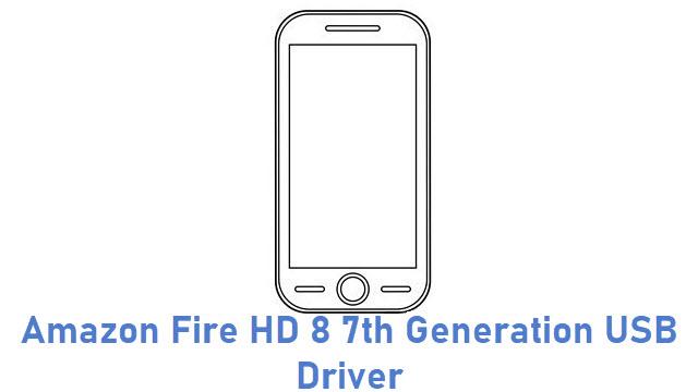 Amazon Fire HD 8 7th Generation USB Driver