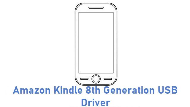 Amazon Kindle 8th Generation USB Driver