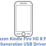 Amazon Kindle Fire HD 8.9 2nd Generation USB Driver