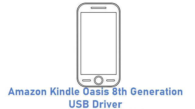 Amazon Kindle Oasis 8th Generation USB Driver