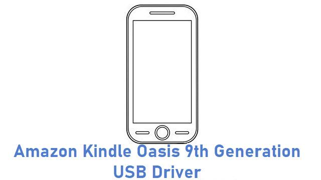 Amazon Kindle Oasis 9th Generation USB Driver