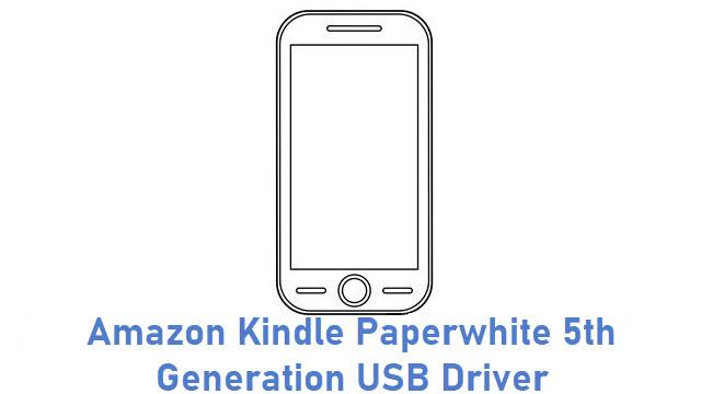 Amazon Kindle Paperwhite 5th Generation USB Driver